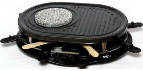 Koolatron TCRF08BN Total Chef Party Grill & Fondue Set, 120 volts ...