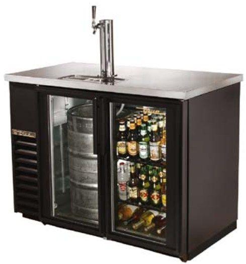 True Tdb 24 48g Draft Beer Cooler 24 Quot Back Bar Direct