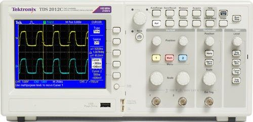 Oscilloscope Pulse Measurement : Tektronix tds c digital storage oscilloscope mhz