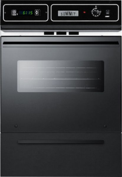 Summit Tem721dk Built In Wall Oven 24 Quot Black Removable