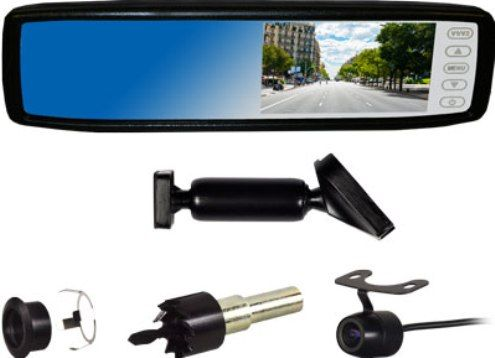 Ibeam Te Rvmc Rear View Mirror Replacement Replacement Rear View