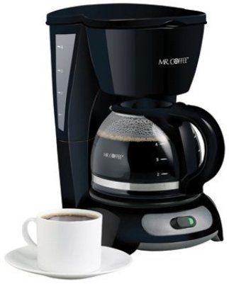Dual Filter Coffee Maker : Mr. Coffee TF5 Coffee Maker, 4 Cup, Switch type, Black, UPC 72179228929, Brewing Pause n Serve ...