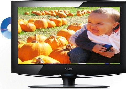 Coby TF-DVD2395 LCD High-Definition Television DVD Combo, 23