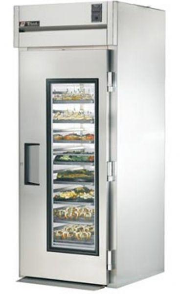 True TG1RRI-1G Roll-In Glass Door Refrigerator, Oversized, factory ...