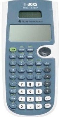 Texas Instruments TI-30XSMV MultiView Scientific Calculator, 4-line × 16-character, easier-to-read LCD display, Review and edit previous entries via a scrollable home screen, Paste inputs or outputs into new calculations, CLASSIC mode for similar entry and compatibility with previous 2-line scientifics (TI30XSMV TI 30XSMV TI-30XS-MV TI30XS TI30 TI-30)