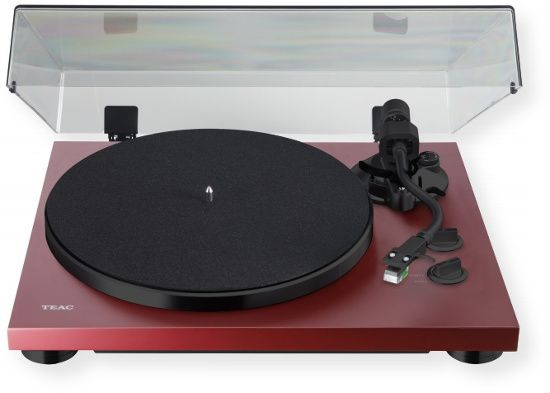 TEAC TN400SMR Turntable System; Red Wood; Three Speed Turntable plays all the hits both old and new; Aluminum Die cast Platter and upgraded motor assembly provide years of service and stability; Newly designed, low friction spindle reduces platter drag, resulting in enhanced speed consistency and tonal accuracy;  UPC 043774032860 (TN400SMR  TN400S-MR  TN400SMRTEAC TN400SMR-TEAC TN400SMR-TURNTABLE TN400SMRTURNTABLE)