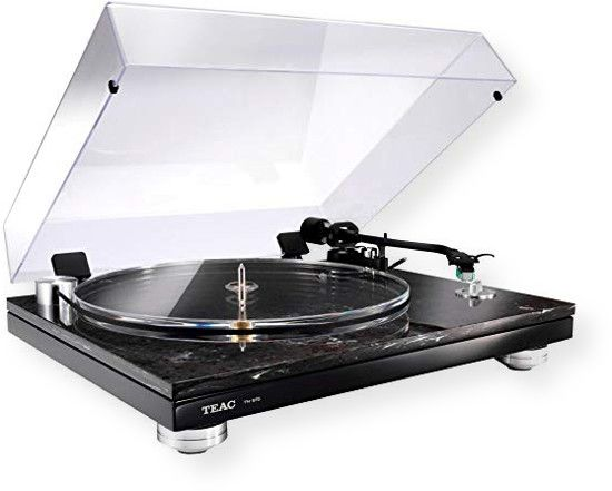 "TEAC TN570 USB Turntable With Digital Outputs; Black Marble; 45 and 33-1/3 rpm 2 speed Cogging free Belt Drive Turntable; ""PRS3"" Platter Rotation Sensing Servo System for Precise Rotate Speed; Sleek Resonance free Dual Material Compound by Marble Stone and High density MDF; Crystal Clear Acrylic Platter with Perimeter Belt Drive; UPC 043774032273 (TN570 TN-570 TN570TEAC TN570-TEAC TN570-TURNTABLE TN570TURNTABLE)"
