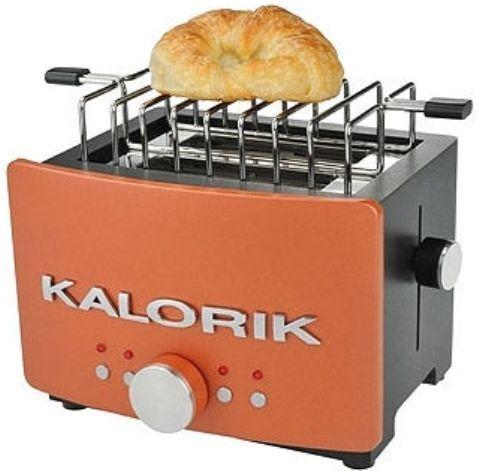 Kalorik To 25244 Aztec 2 Slice Toaster With Bun Warmer