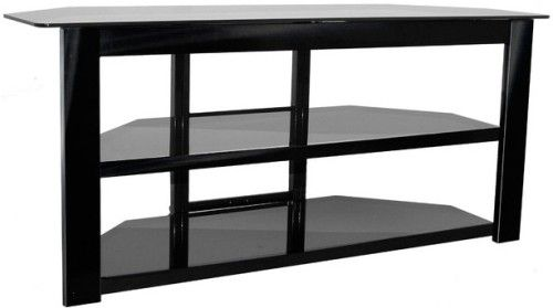 Innovex To452gbk Oxnard 52 Tv Stand Black Superior Strength Steel