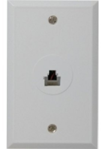 rca tph552r rj45 wall plate white flush mounted wall rj45 connection allows you to hook