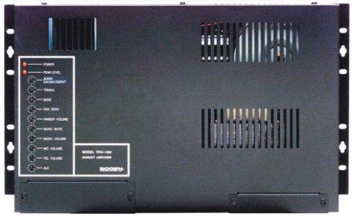 bogen tpu250 telephone paging amplifier black with silver. Black Bedroom Furniture Sets. Home Design Ideas