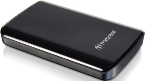 Transcend TS320GSJ25D2 StoreJet 25D2 (USB 2.0) 320GB 2.5-inch Mobile Hard Drive, Black, Sleek, durable and shock-resistant; Advanced internal hard drive suspension system, Streamlined exterior with a high-gloss finish, Anti-slip rubber stabilizing feet, Driver-free Plug and Play operation, USB powered, UPC 760557818076 (TS-320GSJ25D2 TS 320GSJ25D2 TS320G-SJ25D2 TS320G SJ25D2)
