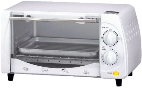 Brentwood Appliances Ts 345w Toaster Oven Clean White Finish 9 Liter Large Capacity 4 Slice