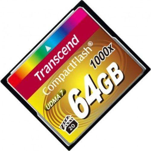 Transcend Information 64gb Cf Card 1000x, Type I