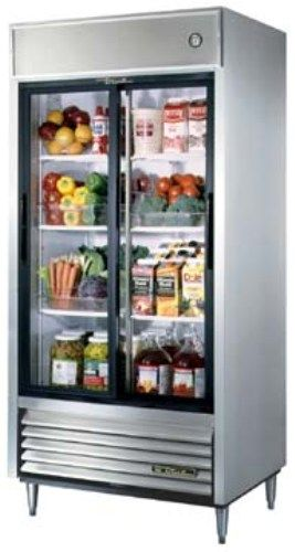 true tsd 33g refrigerator reach in two section 33 cu. Black Bedroom Furniture Sets. Home Design Ideas