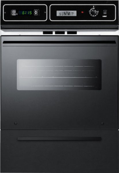 Summit Ttm 721 2kw 24 Quot Built In Wall Oven Black