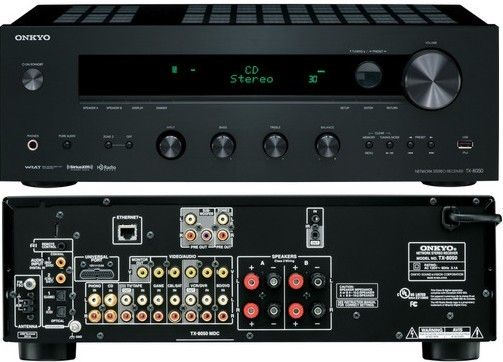 Onkyo TX-8050 Network Stereo Receiver, Internet Radio and