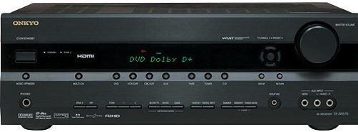 Onkyo TX-SR576B Home Theater Receiver 7 1-Channel, Tone
