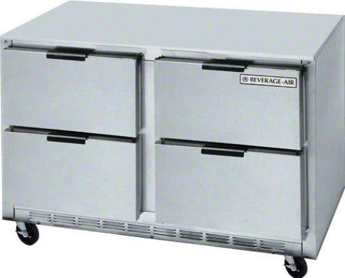 Beverage Air UCFD48AHC-4 Undercounter Freezer - 48