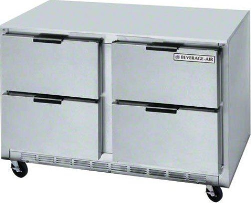 Beverage Air UCFD60AHC-4 Undercounter Freezer - 60
