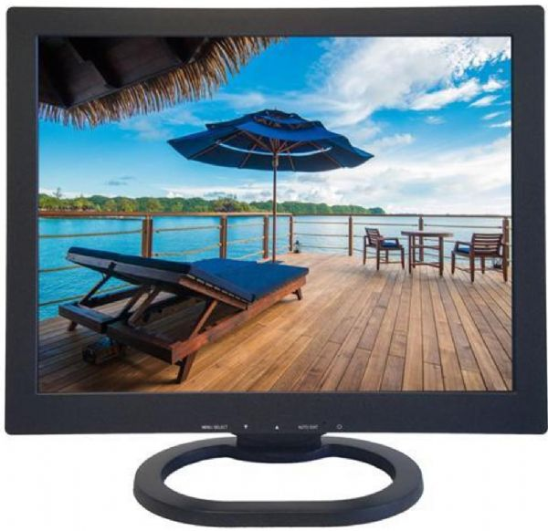 ViewEra V151HV2 15-Inch TFT LCD Video Monitor, Black, 1024 x 768 XGA Maximum Resolution, 350 cd/m2 Brightness, 700:1 Contrast Ratio, 8ms Response Time, 170°(H)/160°(V) Viewing Angle, 16.2M Colors, Active Screen Area 304.128 x 228.096 mm, Pixel Pitch 0.297 x 0.297 mm, 2W Built-in Speakers, Tilt Adjustments Stand, UPC 854446001486 (V1-51HV2 V15-1HV2 V151-HV2 V151 HV2)