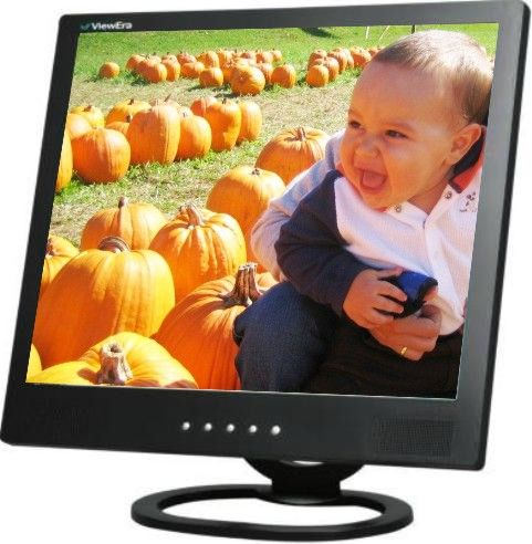 ViewEra V191BN-B Security Monitor Active matrix LCD display with Stereo speakers, 19