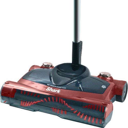 Bottom emptying cordless sweeper