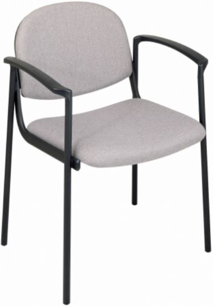 office star v3310 waiting room upholstered arm chair thickly padded