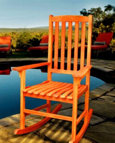 Big Lots Furniture Extended Warranty: VIFAH V397 Marylebone Porch Rocker, Wooden Rocker Is
