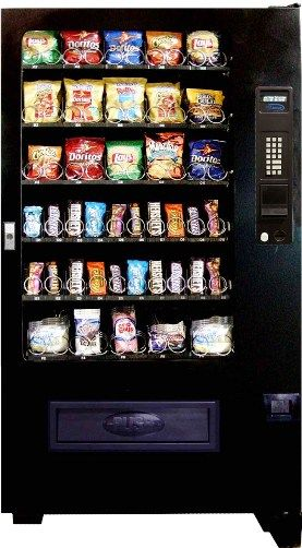Seaga Vc5000 Five Wide 40 Select Ambient Snack Vending