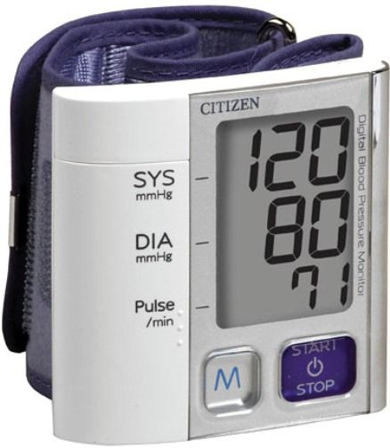 Citizen Wrist Digital Blood Pressure Monitor CH-657