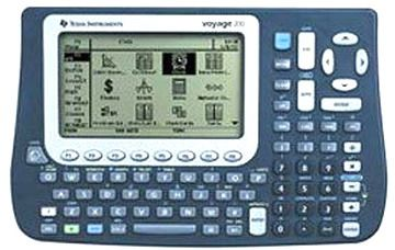 Texas Instruments VOYAGE200 Graphing Calculator QWERTY Keyboard