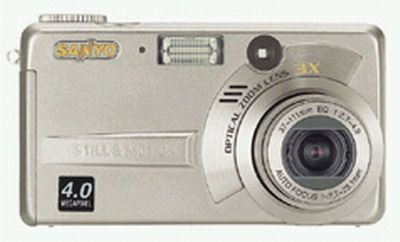 Sanyo� VPC-AZ3� �4.0 Megapixel, 3x Optical/4x Digital Zoom, Point-and-shoot, Digital Camera (VPCAZ3, VPC AZ3, VPC-AZ)