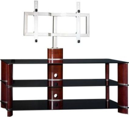 bush vs11550a03 plasma tv stand with mounting bracket mounting bracket allows tv when mounted to swivel 10 degrees to the right or left