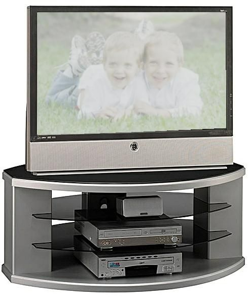 Bush VS97250A-03 Video Base, Collection: Universal TV / VCR,  Finish: Silver Suede (VS97250A03 VS97250A 03 VS97250A VS97250)