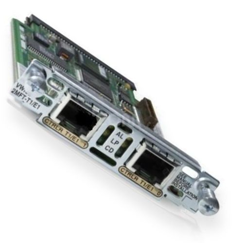 Cisco 2 Port E1 Multiflex Voice//WAN Interface Card VWIC-2MFT-E1