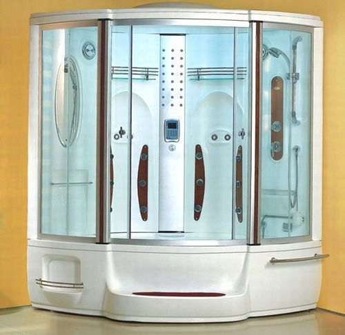 Wasauna WAS-2245 22-Jet Steam Shower with Whirlpool, Shower Capacity 2 Adults, Temperature control with timer Fog free mirror, Massage jets 22 adjustable body massage jets (WAS2245 WAS 2245 WAS-224 WAS224)