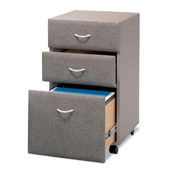 bush wc14553 three drawer file advantage series a pewter