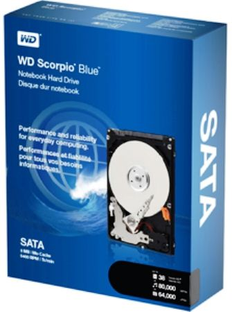 Western Digital WD3200BEVT WD Scorpio Blue 320GB SATA Hard Drive, 5,400 RPM Rotational Speed, 8 MB Buffer Size, 5.50 ms Average Latency, 12.0 ms Read Seek Time, Track-To-Track Seek Time 2.0 ms (average), 2.5-inch drives offer high-performance, low power consumption and cool operation, making them ideal for notebooks and other portable devices (WD-3200BEVT WD 3200BEVT WD3200-BEVT WD3200 BEVT)