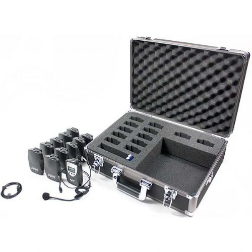 Williams Sound TGS PRO 737 FM Tour Guide System For 72-76 MHz, Includes, 1 Transmitter, 10 Receivers, 1 Microphone, 11 AA Alkaline Batteries, 1 System Carry Case, Earphones Or Headphones Sold Separately; Now featuring the sleek, NEW PPA T46 FM body-pack transmitter; Allows full freedom of movement for tour group; Easy set-up, simple operation; Single-channel, field-tunable receiver; UPC: 609015893029 (WILLIAMSSOUNDTGSPRO737 WILLIAMS SOUND TGS PRO 737 PERSONAL PA FM TOUR GUIDE SYSTEM)