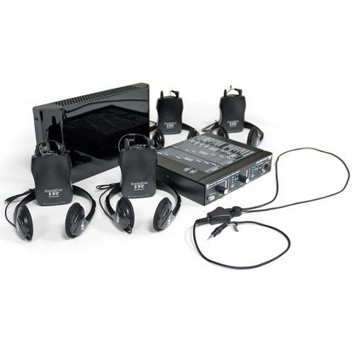 Williams Sound WIR SYS 1 Large-area, 2-channel infrared Listening system for 4 Users, Includes, 1 Infrared Emitter, 1 Modulator, 4 Infrared Receivers, 4 Headphones, 2 Neckloops, 8 AA Alkaline Batteries, 1 Bracket, 1 ADA Wall Plaque And 1 Rack Panel kit; 4-user infra-red listening system, ideal for courtrooms; Modulator accepts 2 audio inputs simultaneously over XLR/TRS inputs; UPC: 632709971697 (WILLIAMSSOUNDWIRSYS1 WILLIAMS SOUND WIR SYS 1 COURTROOM SYSTEM AUDIO SYSTEM)
