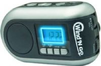 Wind �N Go 7600 Time Minder, Silver/Black, Lanters and Emergency Beacon, Silver/Black, Digital travel alarm clock with backlit display, AM/FM radio, 3 LED flashlight, no need to turn on all of the lights to see your way to the restroom at night, High-decibel siren for personal safety, Charges cell phones, Weight 0.83 lbs, Price Each, UPC 769372076005 (WINDNGO WINDNGO7600 WINDNGO-7600 07600 Wind�N Go Wind�Ngo WindNGo Wind N Go Wind And Go Wind & Go Wind&Go)