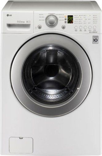 Lg Wm2240cw Front Load Washer With Led Display 6motion Technology Direct Drive Motor