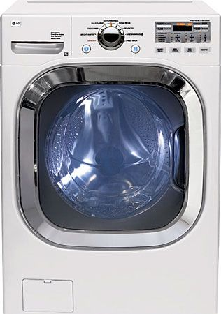 Lg Wm2601hw Front Load Washer 4 5 Cu Ft Ultra Capacity