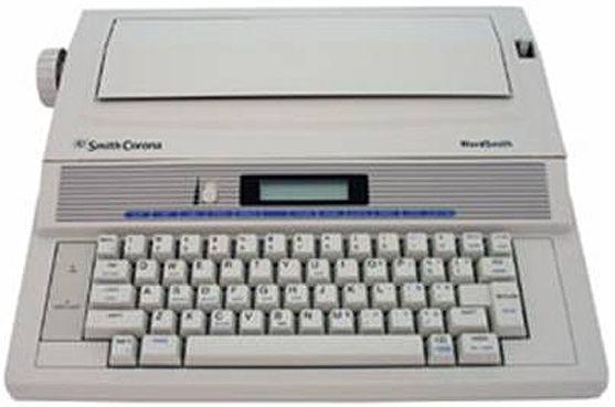 smith corona ws250 wordsmith electronic display typewriter 2 line x rh salestores com Smith Corona Electronic Typewriter Smith Corona Electronic Typewriter
