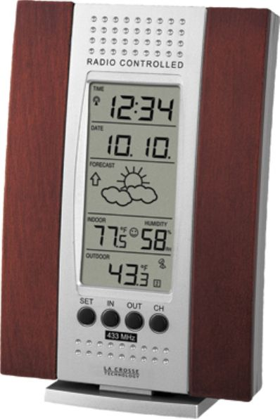 La Crosse Technology WS-7014CH-IT Wireless Forecast Station, 1% to 99%