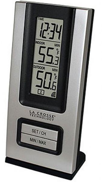 La Crosse Technology WS-9117U-CBP Wireless Silver Indoor/Outdoor ...