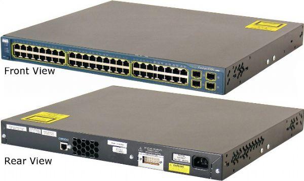 Cisco WS-C3560G-48TS-S model Catalyst 3560G-48TS SMI Switch