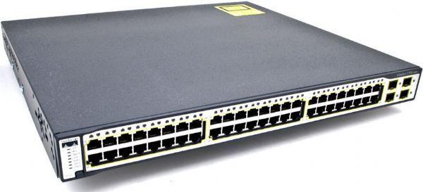 Cisco WS-C3750-48PS-S Catalyst 3750-48PS Stackable Ethernet