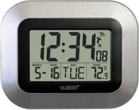 La Crosse Technology Wt 8005u S Atomic Digital Wall Clock